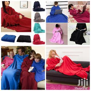 Supper Home Winter Warm Fleece Snuggie Blanket