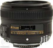 Nikon AF-S FX NIKKOR 50mm F/1.8G Prime Lens With Auto Focus | Accessories & Supplies for Electronics for sale in Homa Bay, Mfangano Island