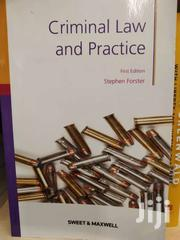Criminal Law And Practice -sweet And Maxwell | Books & Games for sale in Nairobi, Nairobi Central