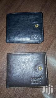 Mont Blanc Mens Leather Wallets. Black. | Bags for sale in Nairobi, Woodley/Kenyatta Golf Course
