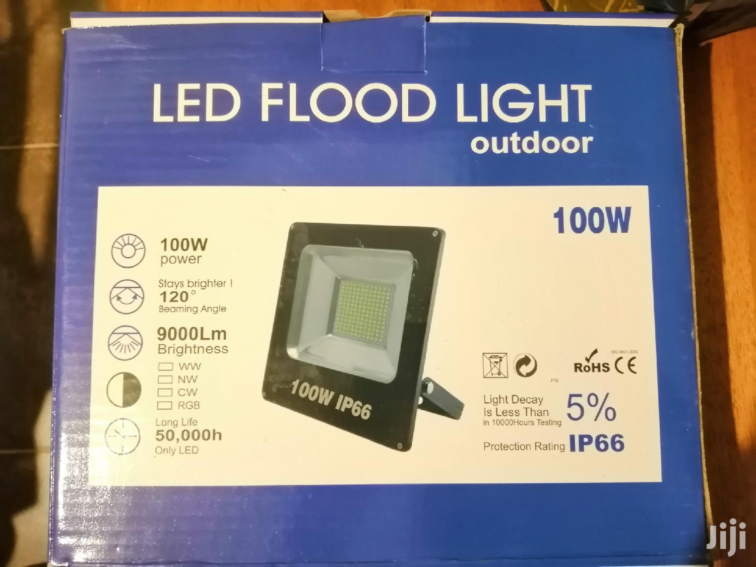 New Sealed 100W Ultra Thin Outdoor LED Floodlight