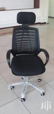 A. Office Chair Mesh Highback + Headrest Ksh8500 With Free Delivery | Furniture for sale in Nairobi, Nairobi West