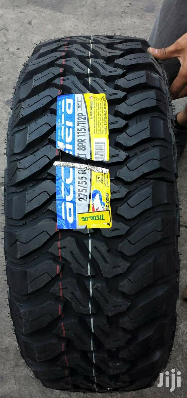 275/55/20 Radar Tyre's Is Made In Indonesia