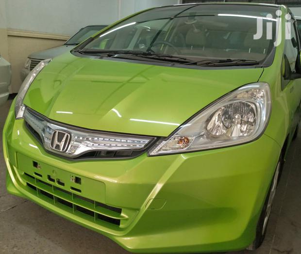 Archive: Honda Fit 2012 Green
