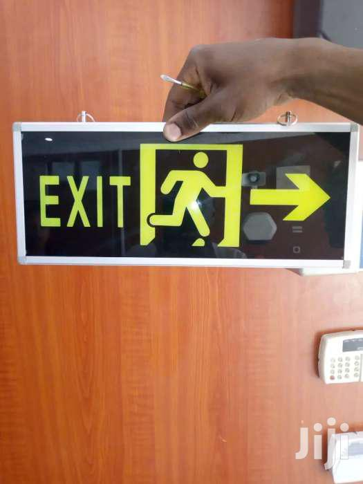 Illuminous Double Sided Fire Exit Sign | Other Services for sale in Nairobi Central, Nairobi, Kenya