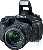 CANON EOS 80D 24.2mp 7fps Fhd 1080P Video18-135mm DSLR Camera Black   Photo & Video Cameras for sale in Nairobi, Nairobi Central