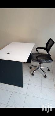 A. Office Desk 1.2mtr Without Drawer+Chair Ksh 11950 Free Delivery | Furniture for sale in Nairobi, Nairobi West