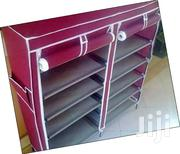 2 Columns Shoe Racks With Canvas | Furniture for sale in Nairobi, Kahawa West