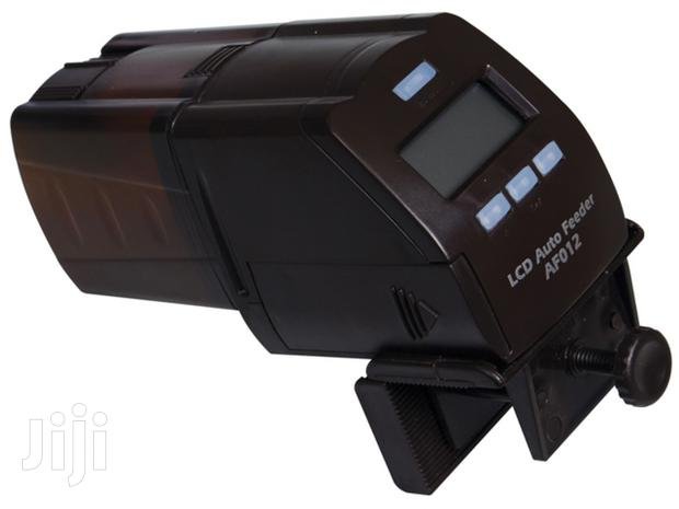 Aquarium Fish LCD Auto Feeder, For Pellets And Flakes. Holiday Feeder