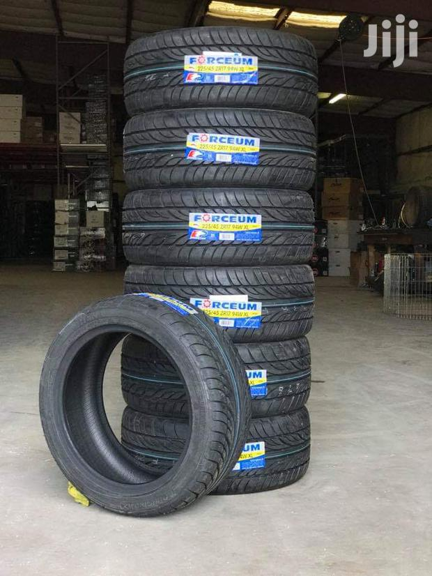 225/45/17 Forceum Tyres Is Made In Indonesia