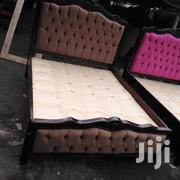 5*6 Buttoned Bed | Furniture for sale in Nairobi, Ngara