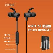 VIDVIE Sport Wireless Earphones BT816 Bluetooth Headsets Handsfree | Headphones for sale in Nairobi, Nairobi Central