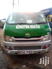 Toyota Hiace 2009 Silver | Buses & Microbuses for sale in Kitui, Township