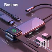 Baseus USB C 3.0 Type C Multi Hub Hdmi Rj45 Macbook Iwatch Charger | Computer Accessories  for sale in Nairobi, Nairobi Central