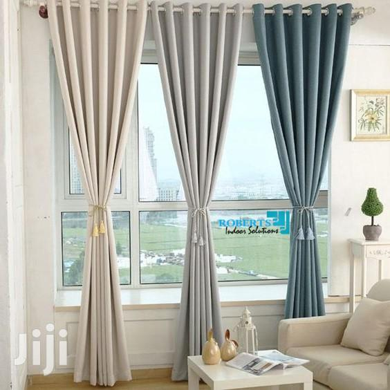Linen Curtain and Sheer