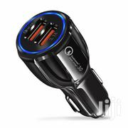 Fast Car Charger Qualcomm QC3.0 Certified Quick 2-USB Port Charger | Vehicle Parts & Accessories for sale in Nairobi, Nairobi Central