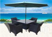 4 Seater Outdoor Table And Umbrella | Furniture for sale in Nairobi, Nairobi West