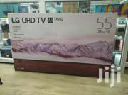 2019 LG Smart 4K/Uhd TV 55-inch 2019 Model + Free Wall Bracket | TV & DVD Equipment for sale in Nairobi, Nairobi Central
