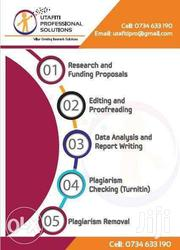 Research Editing, Proofreading, Turnitin, Data Analysis And Report | Computer & IT Services for sale in Nairobi, Nairobi Central