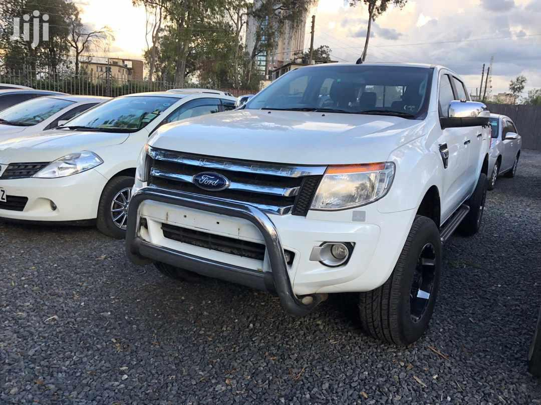 Archive: Ford Ranger 2012 White