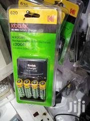 Kodak AA Rechargeable Nimh Finger Batteries 4(Pcs) With AA/AAA Charger | Accessories & Supplies for Electronics for sale in Nairobi, Nairobi Central