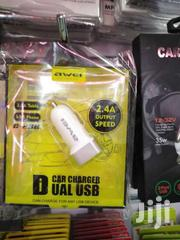 Awei Awei C - 100 2.4A Car Charger For Smart Phones MP3 / MP4 Players | Vehicle Parts & Accessories for sale in Nairobi, Nairobi Central