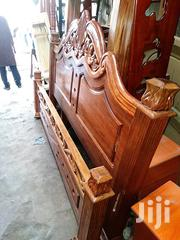 Mahogany Bed 5x6fts Solid-premium Executive Bed | Furniture for sale in Nairobi, Nairobi Central