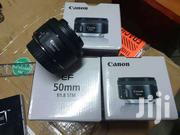New Canon EF 50mm F/1.8 STM Prime Camera Lens   Accessories & Supplies for Electronics for sale in Nairobi, Nairobi Central