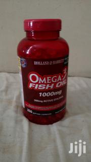 Omega 3 Fish Oil 300 MG Active 250 Soft Gel Capsules | Vitamins & Supplements for sale in Nairobi, Nairobi South