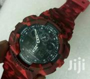 Military Red Gshock Watch Quality Timepiece   Watches for sale in Nairobi, Nairobi Central