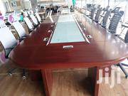 Brown Meeting Table 4800×1800×760mm | Furniture for sale in Machakos, Athi River