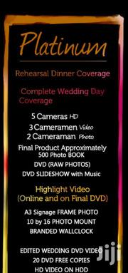 Wedding Photography Platinum Pack With Suprise Gift | Photography & Video Services for sale in Nairobi, Kahawa West