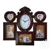 Clock & Picture Frame*Brown* Ksh2000 | Home Accessories for sale in Nairobi, Kilimani