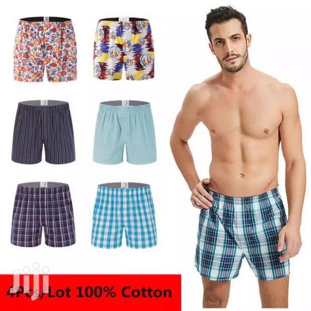 Archive: 6pack Long Lasting Checked Cotton Men's Boxers