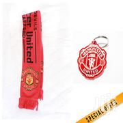 Manchester United Scarf With A Matching Key Holder | Clothing Accessories for sale in Nairobi, Nairobi Central
