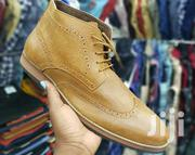 Dope Classical Authentic Leather Boots Semi Casual Official Designer | Shoes for sale in Nairobi, Nairobi Central
