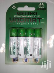 Unomat Rechargeable Batteries AA 4pack 2500mah | Accessories & Supplies for Electronics for sale in Nairobi, Nairobi Central