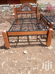Bed With Metal N Wood | Furniture for sale in Nairobi, Ngando