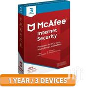 Mcafee Internet Security 3 Devices 1 Year | Software for sale in Nairobi, Nairobi Central