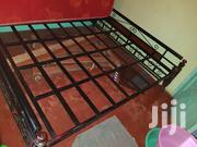 Metal Bed 6 By 6 And Mahogany | Furniture for sale in Nairobi, Airbase