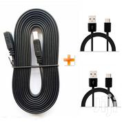 3M HDMI Flat Cable,Get Two Android Cables | Accessories & Supplies for Electronics for sale in Nairobi, Kilimani