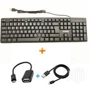 Computer Keyboard Wired USB Keyboard,Get Free OTG And Android Cable | Computer Accessories  for sale in Nairobi, Kilimani