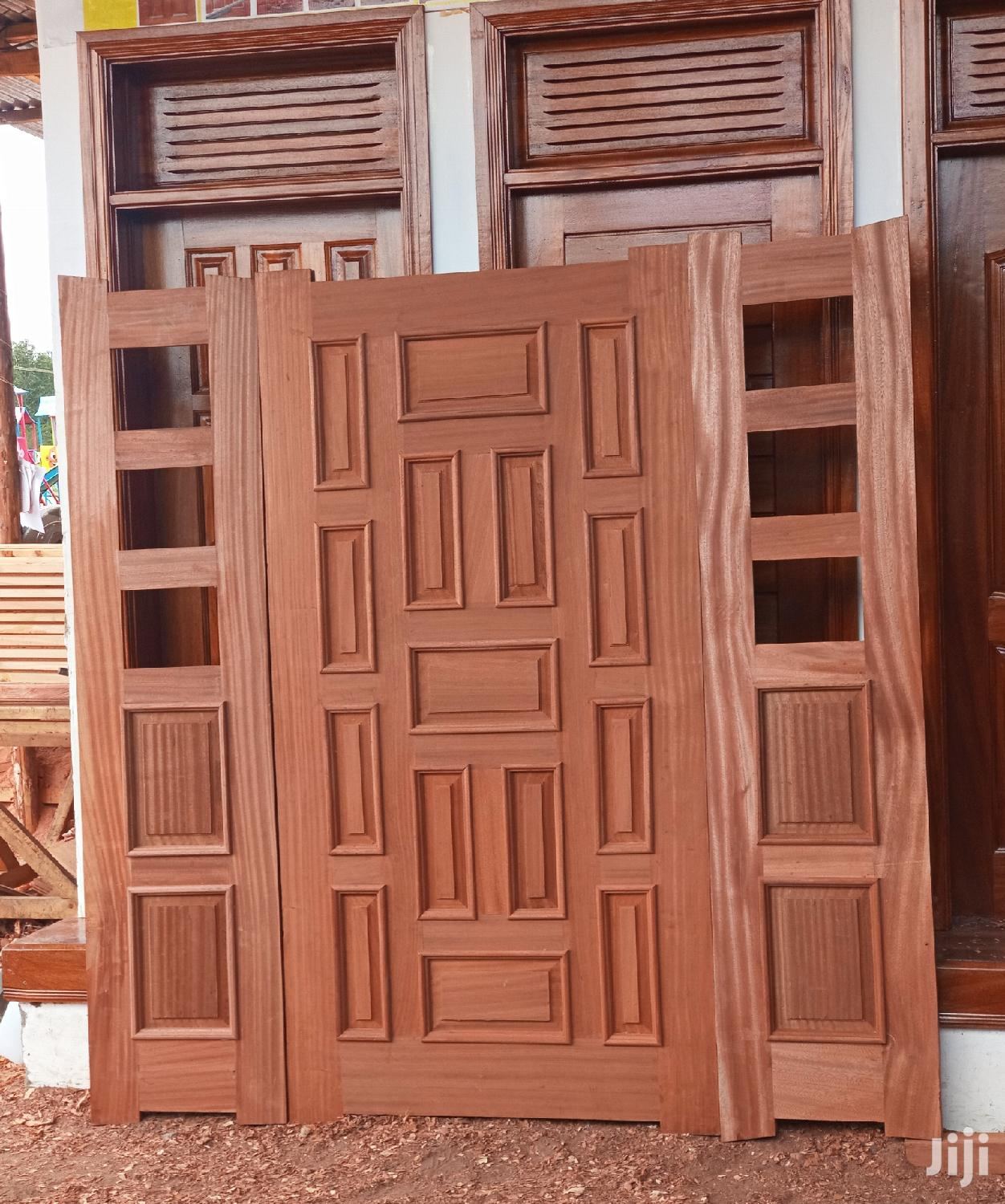 Mahogany Hardwood Main Door