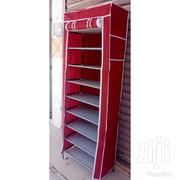 1 Column Portable Shoe Rack With Canvas | Furniture for sale in Nairobi, Komarock