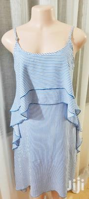 Blue Striped Dresssize 10 | Clothing for sale in Mombasa, Mkomani