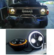 GQ Y60 Nissan Safari: LED Round Headlights With DRL/Indicator Halo | Vehicle Parts & Accessories for sale in Nairobi, Nairobi Central
