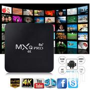Newest 4K MXQ PRO Android 8.1 Quad Core 4+32GB TV Box WIFI Media Str | TV & DVD Equipment for sale in Nairobi, Embakasi