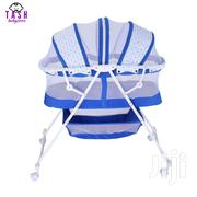 Metal Baby Crib/Baby Bed/Bassinet With A Zipper(Blue) | Children's Furniture for sale in Nairobi, Westlands