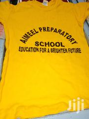 T-shirts For Both Primary And High School Pupils With Log And W/O | Clothing for sale in Kiambu, Ruiru