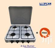 Table Top 4 Burner Gas Cooker With Hosepipe | Kitchen Appliances for sale in Mombasa, Mikindani